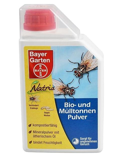 Bayer Garten Natria Bio Mülltonnenpulver, Gelb, 500 gm: Amazon.de ...