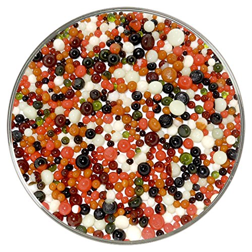 (Peppercorns Designer Collection Mix Frit Balls - 90COE, New Larger 1oz Size - Made from Bullseye Glass)