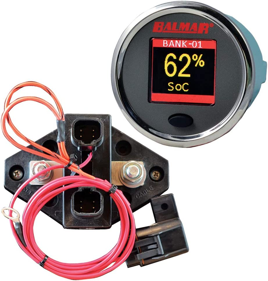 CDI Electronics SG200 Battery Monitor Kit, 12V-48V
