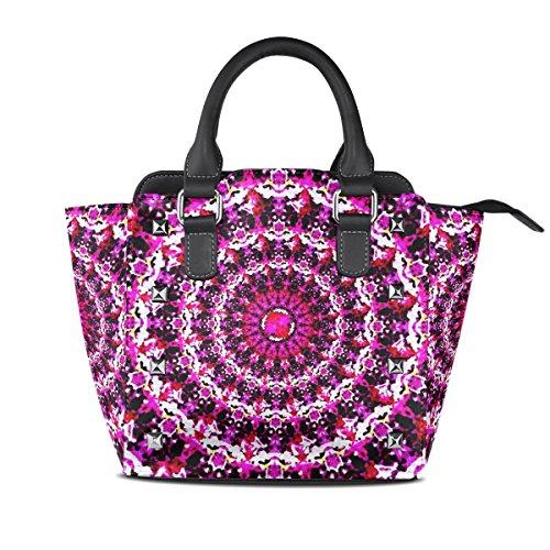 Sunlome bolsos de hombro del totalizador para mujeres Multicolor