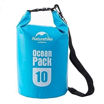 697d8fec6fcf08 THE GURU SHOP Waterproof Dry Bag Ocean Pack 10 Liter Camping Swimming Bag:  Amazon.in: Bags, Wallets & Luggage