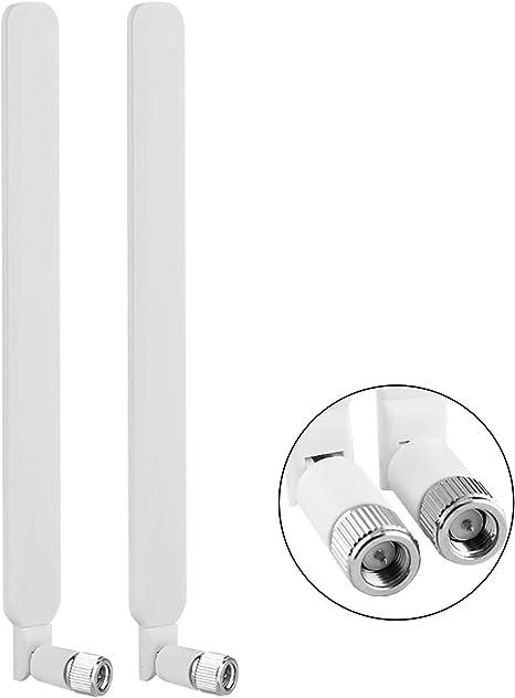 Aigital SMA Antena 10dBI de Alto Rendimiento 4G LTE Antena Amplificador de señal WiFi Adaptador de módem Receptor de Alto Rango para Puntos de Acceso ...