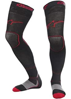 a06037006 Amazon.com  Klim Aggressor Cool 1.0 Knee Brace Socks (SMALL) (BLUE ...