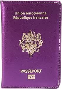 SimpleLife Soporte de Pasaporte Funda Protectora para el Pasaporte ...