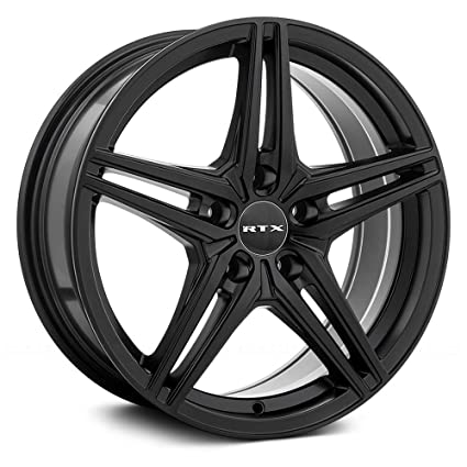 Amazon RTX Bern Сustom Wheel Satin Black 60 X 6060 60 Cool 5x105 Bolt Pattern