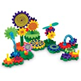 Learning Resources Gears! Gears! Gears! Gizmos Building Set, Construction Toy, STEM Learning Toy, 83 Pieces, Ages 3+
