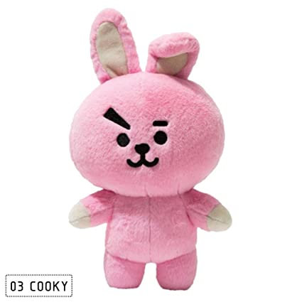Amazon.com: FANMURAN 30CM KPOP BTS Plush Toy BT21 Rabbit Dog Standing Doll Gift JIN: Home & Kitchen