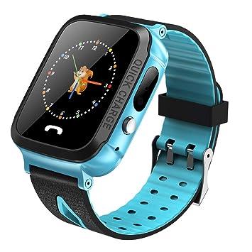 Smartwatch Niños, 1,44 Pulgadas TFT Posicionamiento GPS ...
