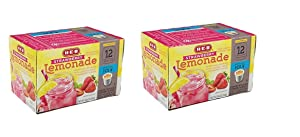 H-E-B Strawberry Lemonade; 2.0 Compatible 12 cts. (Pack of 2) Total 24