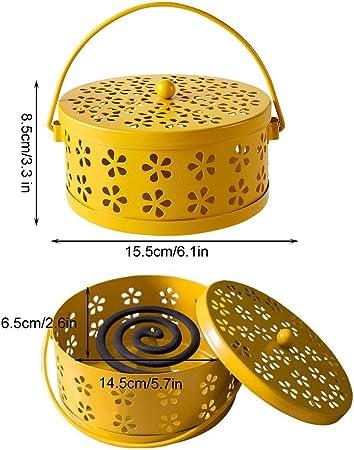 SwirlColor porta zampirone o incenso in metallo Bronze design classico