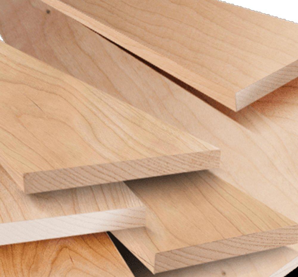 1'' X 6'' X 4' Solid Cherry Hardwood Lumber by NWW