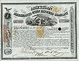 William Fargo Signed American Express Stock