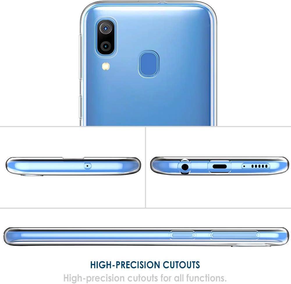 Suhctup Kompatibel mit Samsung Galaxy A51 // M40S H/ülle Slim Sto/ßfest Soft TPU Back Cover Handytasche M/ädchen Serie Silikon Transparent Weiche Durchsichtig D/ünn Handyh/ülle