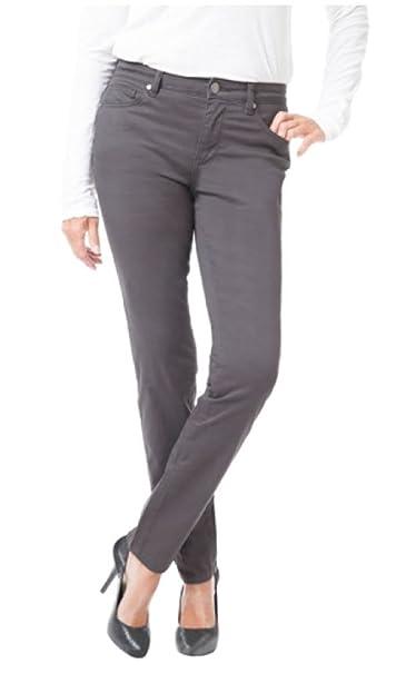 Buffalo David Bitton Women/'s DAILY Mid-Rise Stretch Skinny Ankle Grazer Pant-NWT