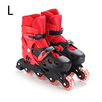 anne210 Roller Skates Adjustable Inline Roller Skates Universalfor Kids Boys and Ladies : Sports & Outdoors
