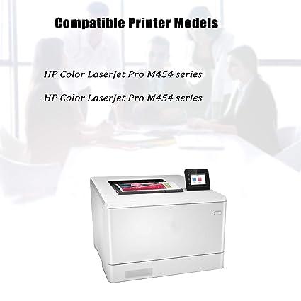 NYT Compatible NO CHIP Toner Cartridge Replacement for HP W2020A W2021A W2022A W2023A (HP 414A) for HP Color Laserjet Pro MFP M479fdw, M479fdn, ...