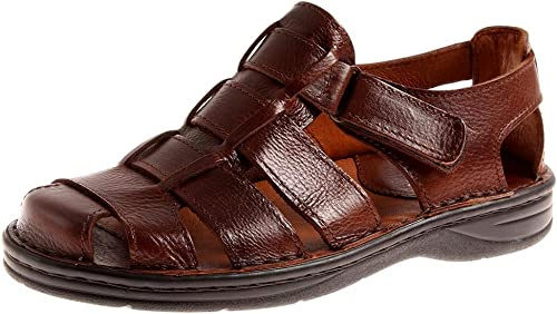 confort JR shoes SANDALES EN CUIR HOMME chaussures d'été