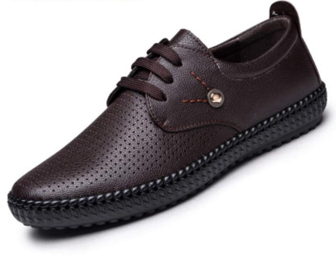 Verano Hueco Sandalias Cordones Zapatos Casuales Transpirables Zapatos Individuales 42 EU|Brown