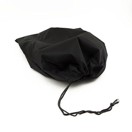 6637f5cd943a Adorox Set of 3 Nylon Portable Travel Drawstring Shoe Bags Pouch (Black)