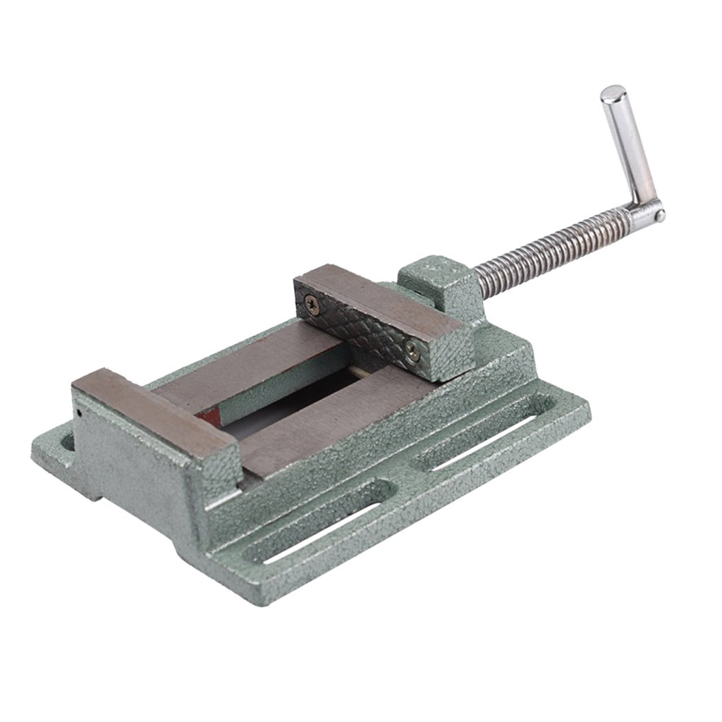 Dovewill 2.5''/ 65mm Professional Drill Press Vice Bench Vise Clamp Die Cast Iron