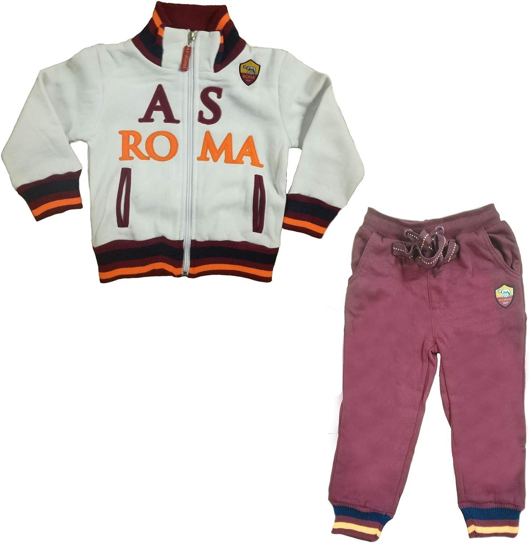 AS Roma Tuta Bambino Felpata Full Zip Prodotto Ufficiale Art 13287