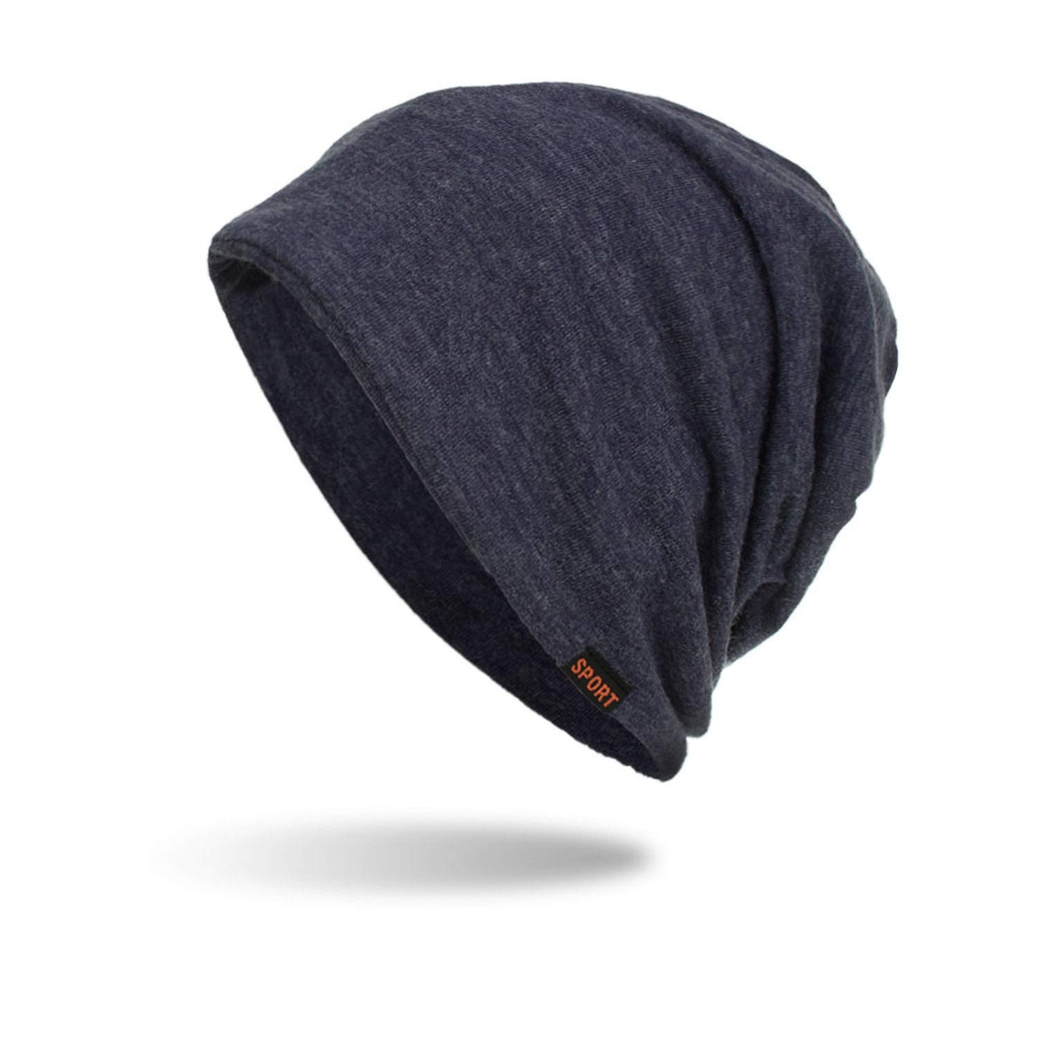 a1eb5078699 Amazon.com  Lovely-Shop Winter Beanies Hat Unisex Solid Color Sport Warm  Soft Skull Knitting Cap Hats Touca Gorro Caps