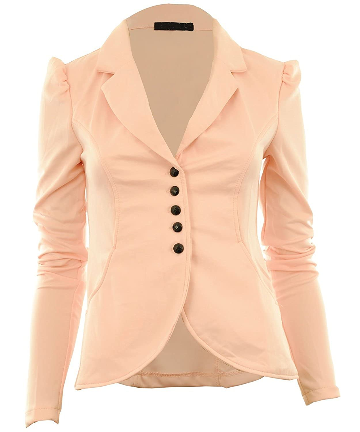 fcb45aa5e Coats, Jackets & Vests New Womens 5 Five Button Front Ponte Bold ...