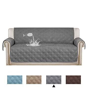 Turquoize 100% Waterproof Dog Couch Cover Quilted Sofa Slipcover Pet Couch  Cover For Pets And