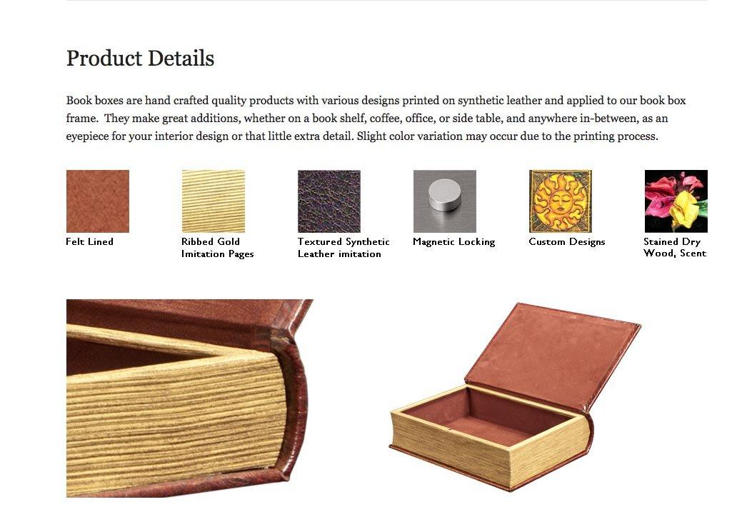 Amazon Modern Art Marilyn Monroe Book Box Set Jewelry Keepsake Secret Home Kitchen