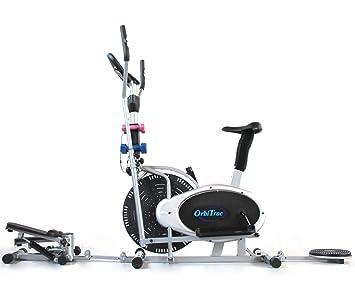 ORB2900S Bicicleta Elíptica ergómetro + Stepper + Twister + ...