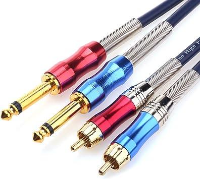 Amazon.com: Tisino - Cable de conexión de audio macho a ...