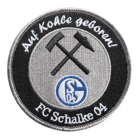 FC Schalke 04 Aufnäher Auf Kohle