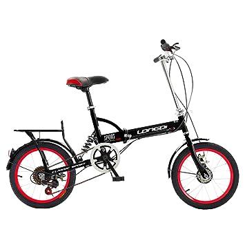 """Xiaoping Bicicletas, bicicletas plegables, ciclismo para niños y niñas, 16"""", velocidad"""