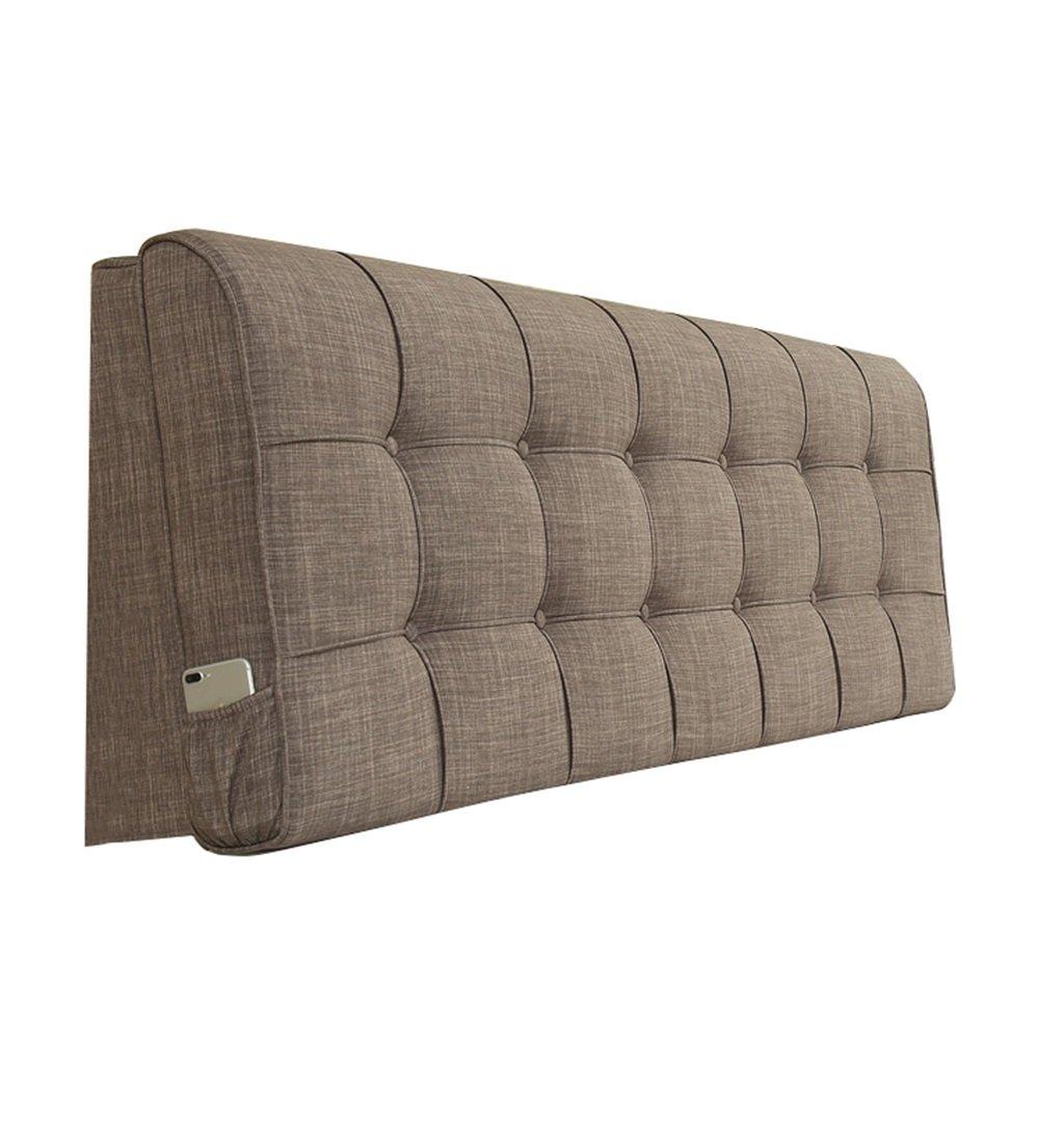 抱き枕 枕の背中のクッションは、本の枕として使用することができます枕の腰のクッションの首の枕の背もたれベッド(茶色) (サイズ さいず : 160×10×58cm) 160×10×58cm  B07FLMJVT4