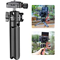 ULANZI U-Pod Aluminum Vlog Tripod w Cold Shoe Mount Handle Grip for Canon G7X Mark III M6 Mark II Sony RX100 VII A6400…