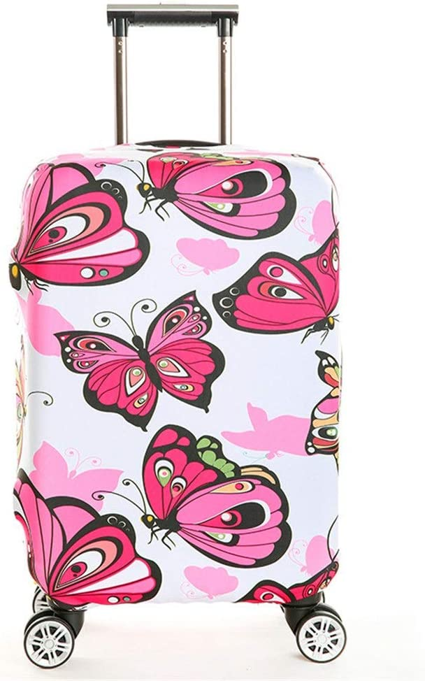 22-24 Oureong Luggage Cover 18 to 32 Inch Travel Luggage Protector Elastic Baggage Covers for Carry On Four to Fit Luggage Anti-Scratch Dustproof Suitcase Cover Color : E, Size : M