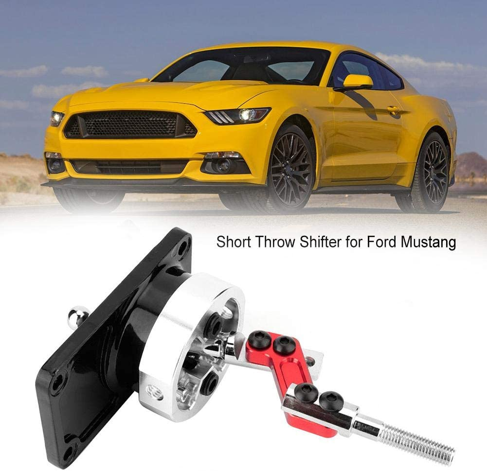 Black Racing Bend SHORT THROW SHIFTER Throw Gear Shifter Lever for Ford Mustang T5