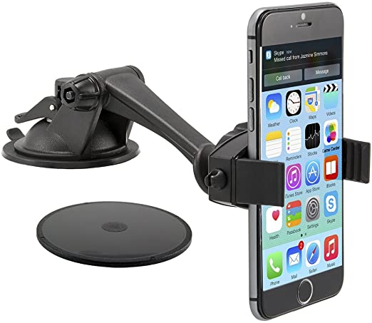 huge selection of fd597 faf9d Arkon Car Mount Phone Holder for iPhone X iPhone 8 7 6S Plus 8 7 6S Galaxy  S8 S7 Note 8 7 Retail Black