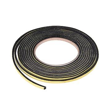 Cinta adhesiva de sellado de espuma, 5 mm de ancho y 3 mm de grosor, 3,96 m de largo