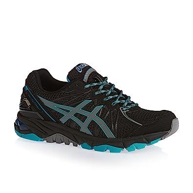 Asics Gel Fuji Trabuco 3 GTX Gore-Tex Outdoor Trail Running Shoes black /  gray