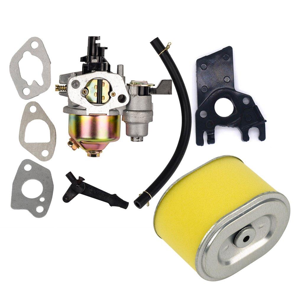 HIFROM Replace Carburetor with Air Filter for Honda Gx140 Gx160 Gx200 5.5hp 6.5hp Engine Generator Lawn Mower Motor