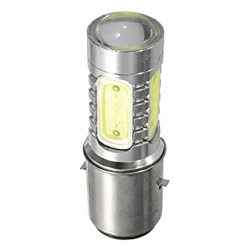 Mengonee DC 6V-80V H6 BA20D COB 12W Motorcycle LED Headlight High Brightness Energy Saving Motorbike Lamps Bulbs