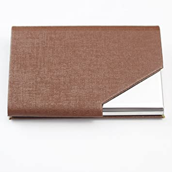 Business card holders chameiee womens mens business card holder business card holders chameiee womens mens business card holder wallet leather business card organiser reheart Image collections