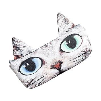 Wudi 1 Pc entzück Extremo Pen Gatos maletín para bolígrafo o lapiceros/Maquillaje/Torso (Cheshire Cat): Amazon.es: Hogar