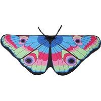Baosity Boys Girls Cute Butterfly Fairy Wing Shawl Cape Wrap Funny Dress Up Props