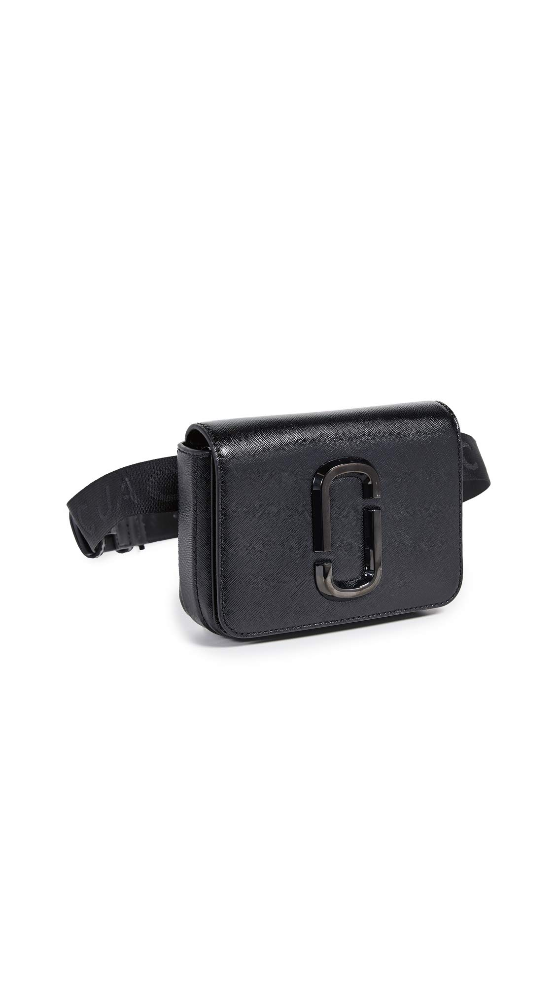 Marc Jacobs Women's XS/S Hip Shot DTM Belt Bag, Black, One Size
