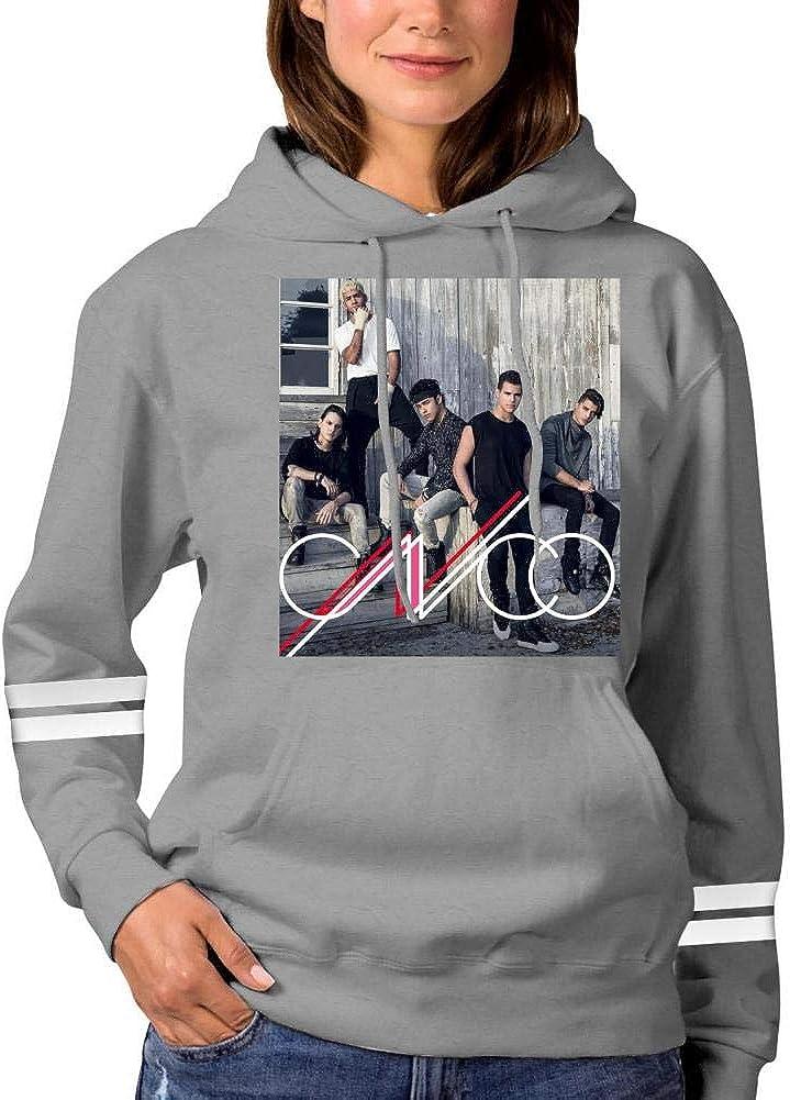 Sexcesal Cool-Cnco Printed Girls Hipster Cat Ear Hoodie Sweater Fashion Black Sweatshirt Hoodies