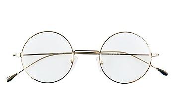 d2d8b1e10cf9 Image Unavailable. Image not available for. Color  Agstum Antique Round  Metal Vintage Reading Glasses ...