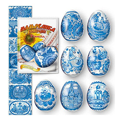 Thermo Heat Shrink Sleeve Decoration Easter Egg Wraps Pysanka Pisanki Gzhel