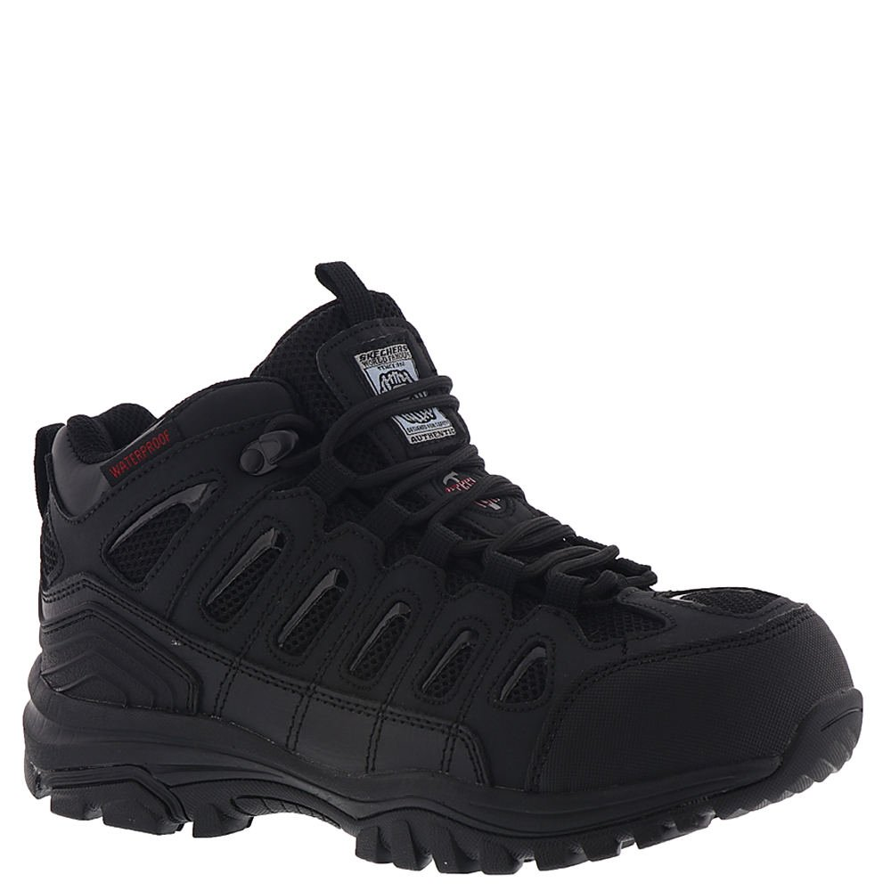 Skechers Work Women's Bellshill Steel Toe Black 9.5 B US